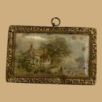 Antique Ormolu doll house Home picture