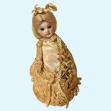 Antique French Mignonette Bride doll
