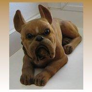 Antique Boxer Nodder figural large dog