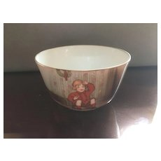 Royal Bayreuth Little Jack Horner Christmas nursery rhyme Bowl