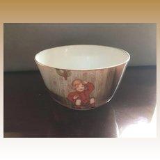 Royal Bayreuth Little Jack Horner Christmas nursery rhyme bowl plate child's tea set