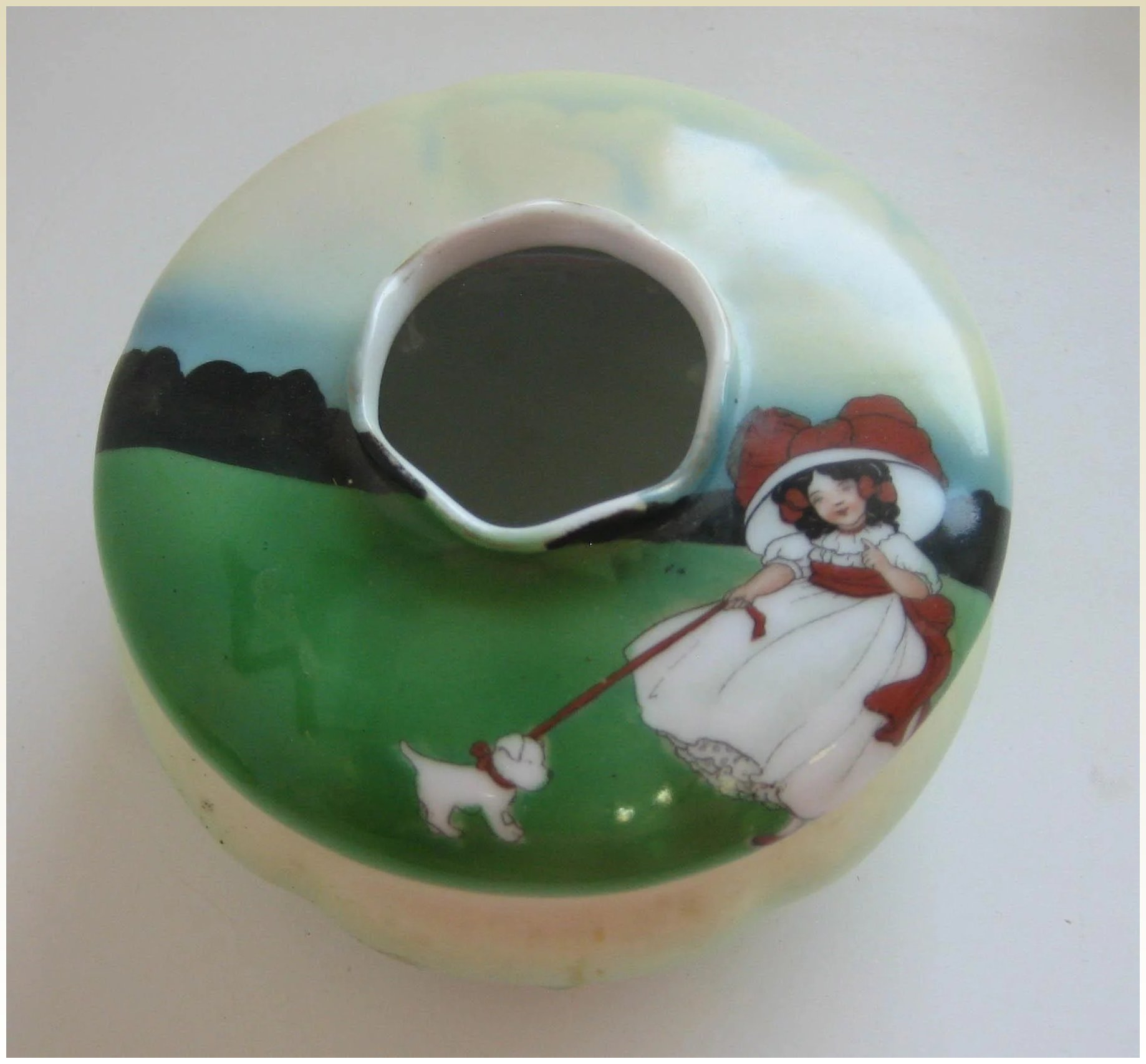bayreuth girls This is a wonderful figural creamer that was made by royal bayreuth it is called girl with basket and it stands inches tall royal bayreuth royal bayreuth creamer.