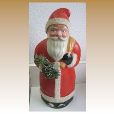 Antique German Belsnickle Santa candy container