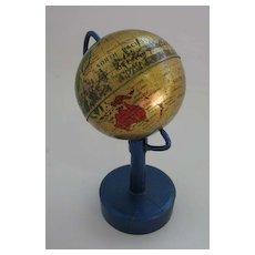 Antique German miniature Globe pencil sharpener