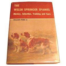 The Welsh Springer Spaniel Book by William Pferd III
