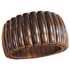 Vintage Chunky Heavy Expandable Cuff Bracelet
