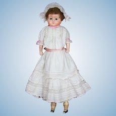 """25"""" German Papier-Mache Doll """"Patent-Washable"""""""