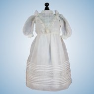Lovely Antique Lawn Doll Dress