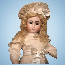 Gorgeous Early Closed Mouth Kestner Bisque Child