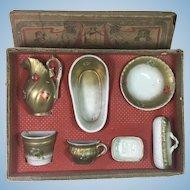 Antique Marklin Porcelain Wash Set Made in Germany