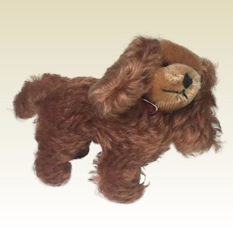 Vintage Mohair Spaniel Dog by Grisly