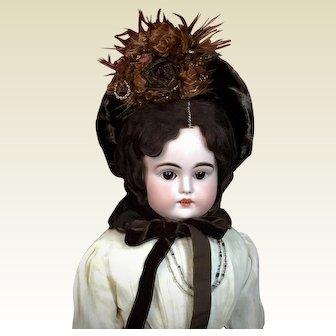 "Stunning 23"" Kestner Child Doll w/ Original Costume"