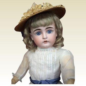 Early Kestner Child Doll with Lovely Blue Eyes