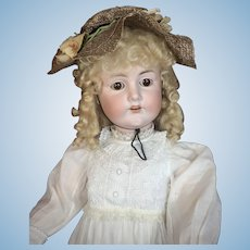 "Huge 33"" German Child Doll - CM Bergmann"