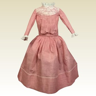 Fabulous Antique Doll Costume