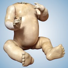 Large Character Baby Doll Body - Made in Germany