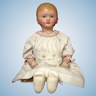 "28"" Martha Chase Stockinette Doll w/ Great Face"