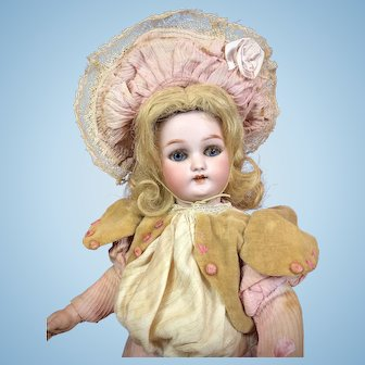 """13"""" French Market Roullet & Decamps Walking Doll Simon & Halbig 1078"""