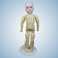 "23"" C.M. Bergmann Bisque Doll"