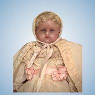 "18"" Pierotti English Poured Wax Doll"