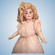 Wonderful Cabinet Size Sonneberg Child Doll