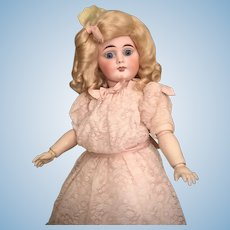 Wonderful Cabinet Size Sonneberg Child Doll