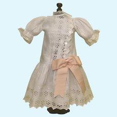 Beautiful Broderie Anglaise Bebe Dress