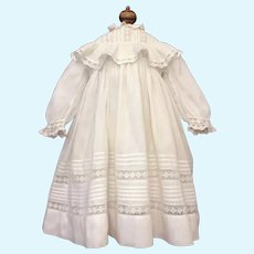 Beautiful Antique Child's Dress Perfect for French or German Bebe