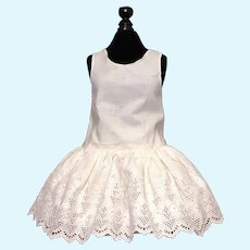 Lovely Broderie Anglaise Full Slip for Bebe