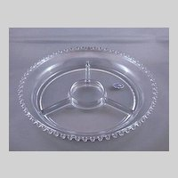 Imperial Glass Candlewick 4-Part Relish Dish or Tray