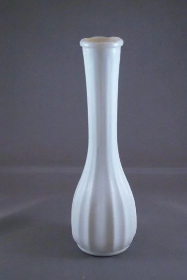 Vintage White Milk Glass Bud Vase Better Yours Than Mine Collectibles Ruby Lane