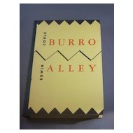 Signed, limited edition copy of Burro Alley by Edwin Corle