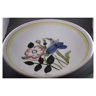 Vintage Handpainted Salad Or Pasta Bowl