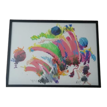 Abstract artwork from 1989