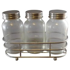 Cafe Sugar rack and containers