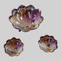 Vintage set of Oriental Bowls