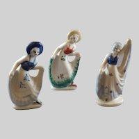 Vintage Women Figurines Made in Japan 1949