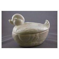 Brad Keeler Pottery White Duck #324