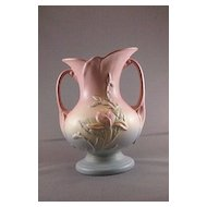 "Hull Vase USA 3-8 1/2"" Magnolia Pattern"