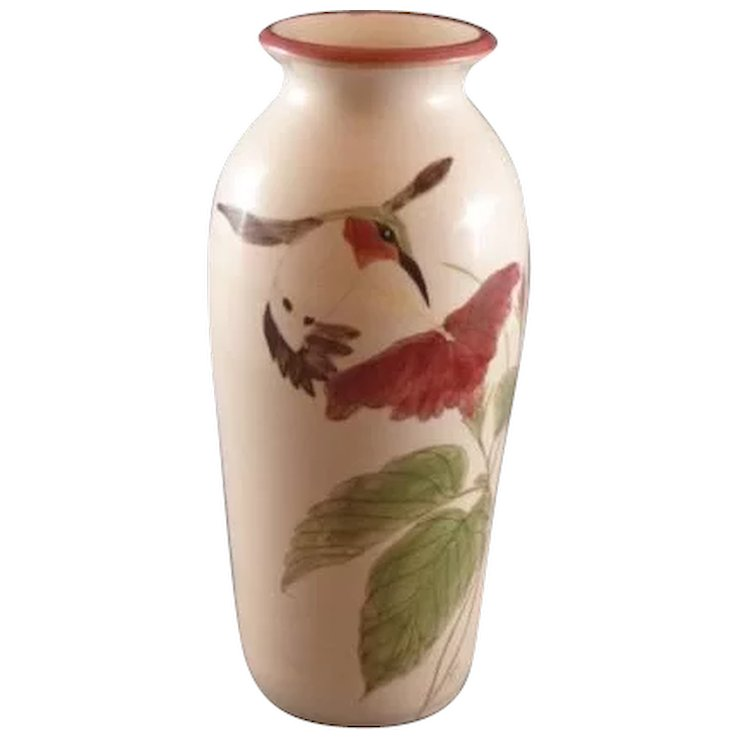 Pottery Hummingbird Vase Better Yours Than Mine Collectibles
