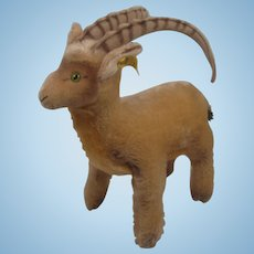 Steiff's Largest Rocky Capricorn Goat With IDs