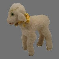Steiff's Medium Sized Lamby Lamb With Two IDs