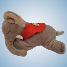 Steiff's Largest Floppy Ele Sleeping Mohair Elephant With ID
