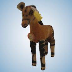 Steiff's Smallest Okapi With All IDs