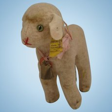 Steiff's Smaller Lamby Lamb With All IDs
