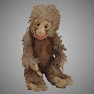 Brown Tipped Mohair Monkey Made By The Baki Company