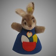 Steiff's Rabbit Nightcap Doll With All IDs