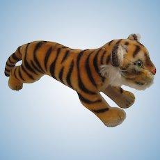 Steiff's Largest Running Tiger Cub