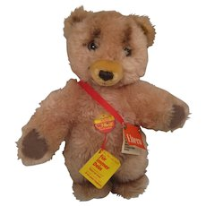 Steiff's Soft Plush Promotional Toddel Bear With All IDs