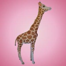 Steiff's Utterly Fantastic All Mohair Studio Giraffe With ID